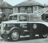 Classic Bedford breakdown lorry