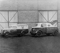 Bedford PC van