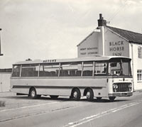 Side view of Bedford VAL coach