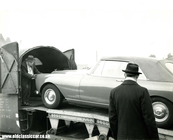 A Bentley Continental of the early 60s
