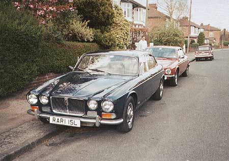 Jaguar XJ12L - Series One XJ12 1972 long wheelbase