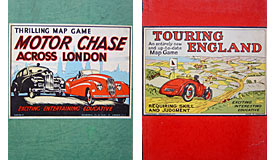 Two old motoring boardgames