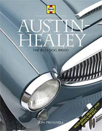 Austin-Healey book cover