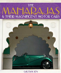 The cars of the Maharajas book cover