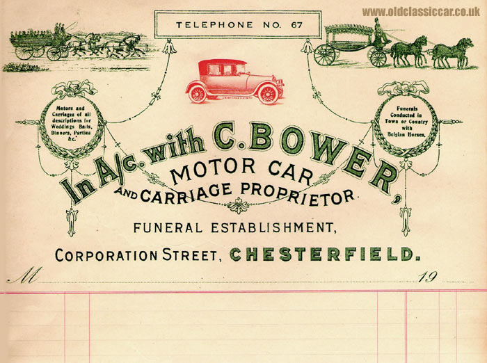 C. Bower's motors & carriages