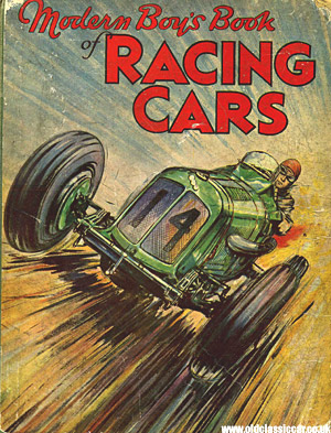 Modern Boy's Book of Racing Cars