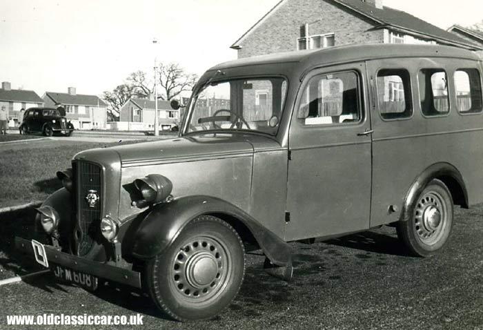 1e52578449 Jowett Bradford estate car photo