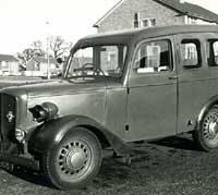 Jowett Bradford estate car photo