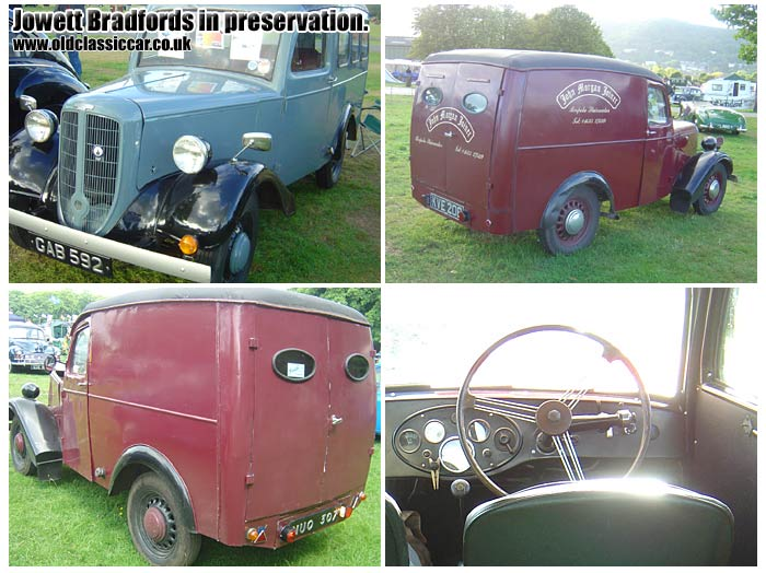 5b75ad5491 Some preserved Bradford vans