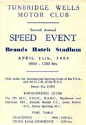 Speed event at Brands Hatch