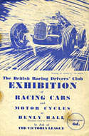 BRDC racing car exhibition
