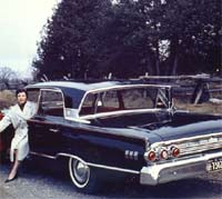 A Mercury Monterey Breezeway of 1963