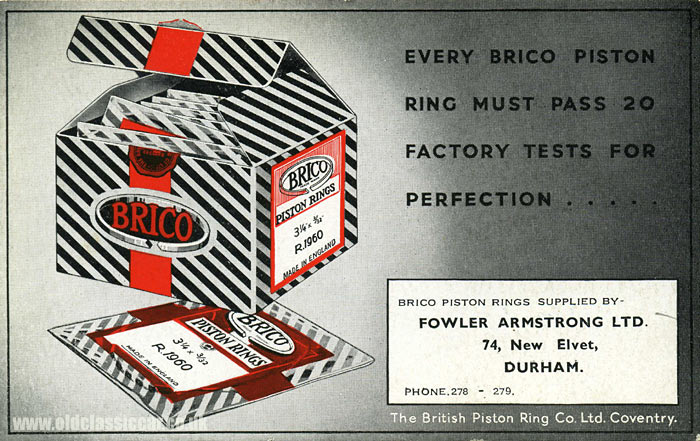 Brico piston rings