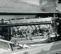 The Type 35 Bugatti engine