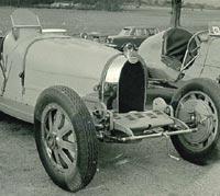 Two vintage Bugattis