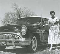 1954 Buick Century Riviera Hardtop Coupe.