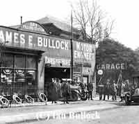 Vintage garage in Cheadle