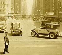 1920s American taxi cabs