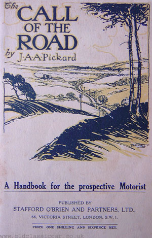 Automobile book from 1927