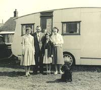 A different 1930s caravan