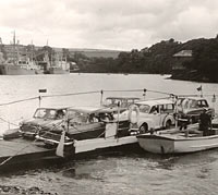 Old car ferry service
