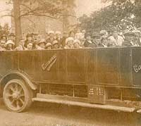 A Carrimore Motor Services char-a-banc