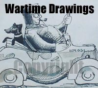 Wartime RAF cartoons