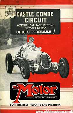 Alfa Romeo on the Castle Combe race programme