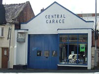A nice old garage in Cheadle