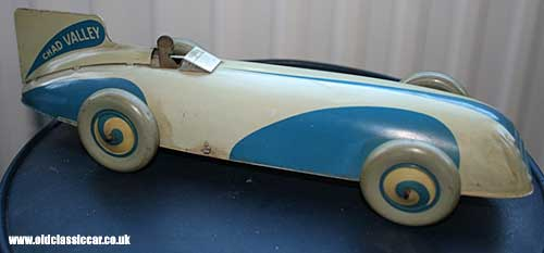 Chad Valley land speed record car toy