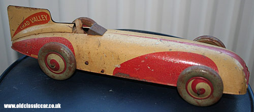 Another Chad Valley land speed record car