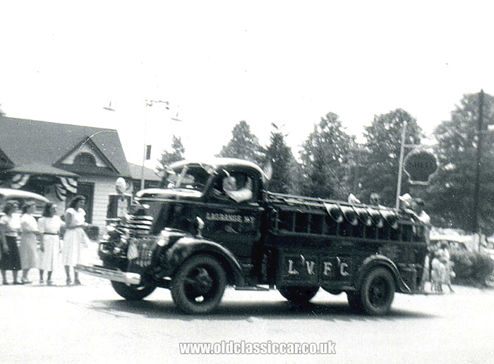 1941 Chevrolet COE fire truck with LaGrange fire department