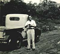 Pre-war Chevrolet pickup truck