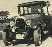 A vintage Citroen B14 motor-car