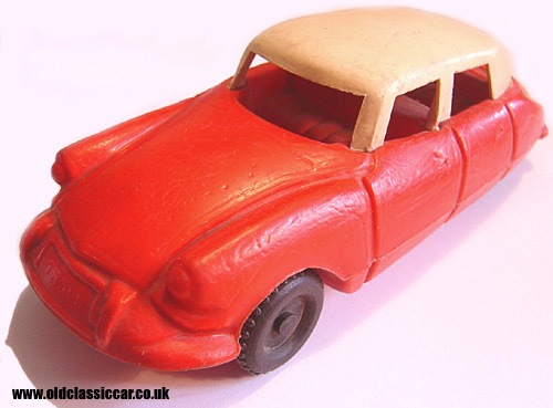 Red toy Citroen