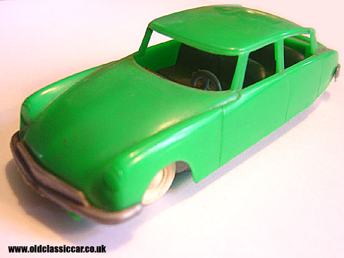 Green plastic Citroen