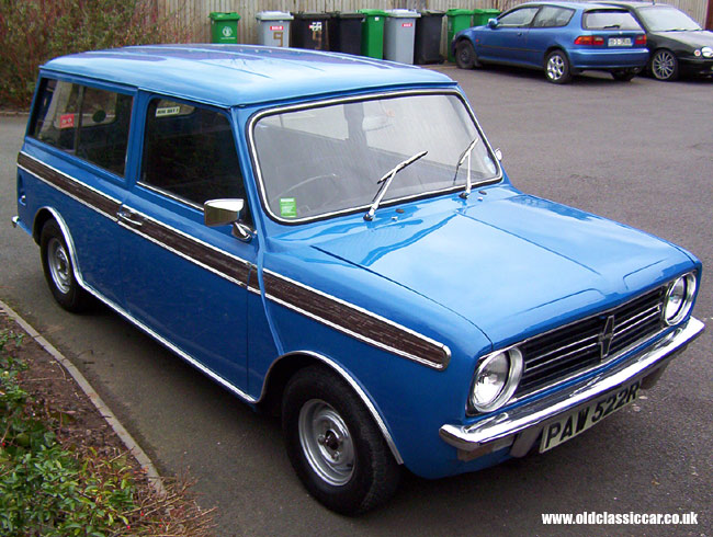 1970s Mini Clubman Estate Car Bl