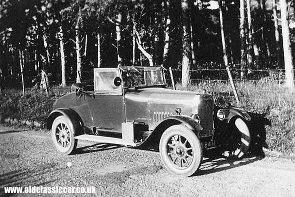 A Clyno tourer of the 1920s