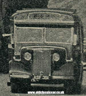 Tours by coach in 1948