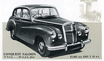 Daimler Conquest saloon version