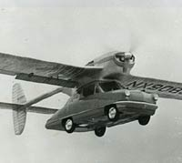 Convaircar flying car in flight