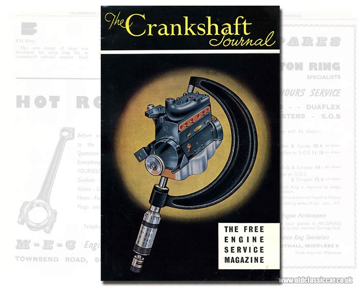 Cover of this car engine re-conditioning magazine