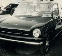 DAF 44 car in 1966