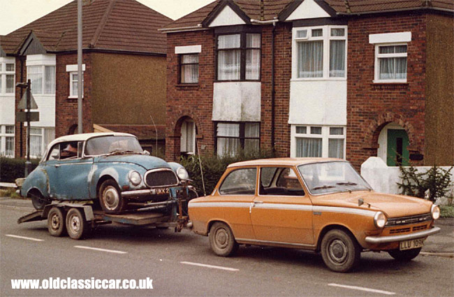 DAF 55 and DKW cars