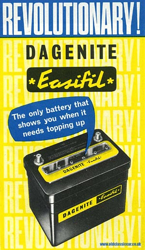 Dagenite car battery