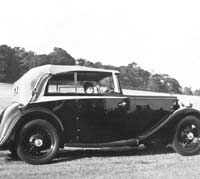 The Daimler in 1952 or thereabouts