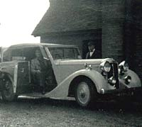 1937 Daimler Light 20 car