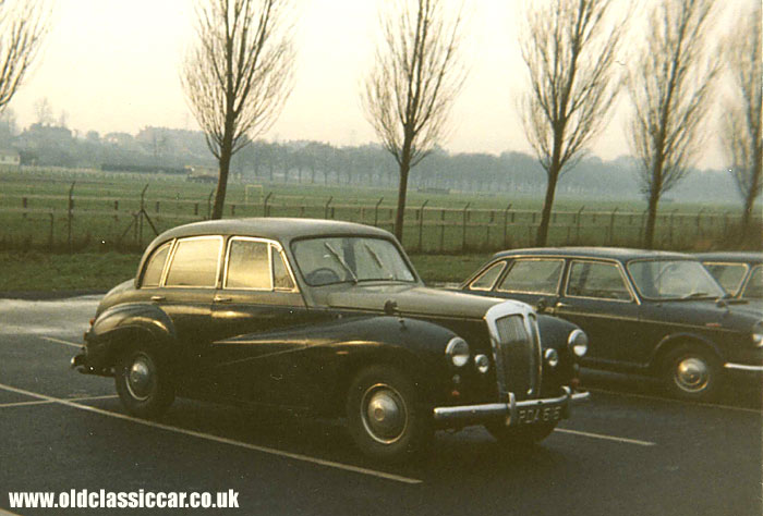 Daimler Conquest car from the 1950s