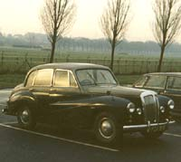 A Daimler Conquest saloon