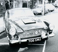 An Aston Martin car